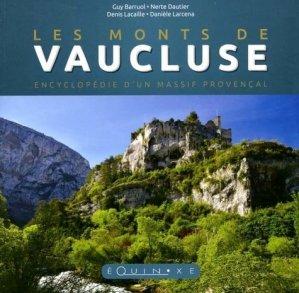 Les monts de Vaucluse - equinoxe - 9782841359554 -