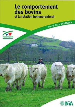 Le comportement des bovins et la relation homme-animal - technipel / institut de l'elevage - 9782841484560 -