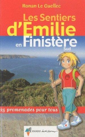 Les sentiers d'Emilie dans le Finistère Sud - rando - 9782841824021 -