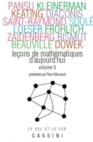 Leçons de mathématiques d'aujourd'hui - cassini - 9782842251697 -