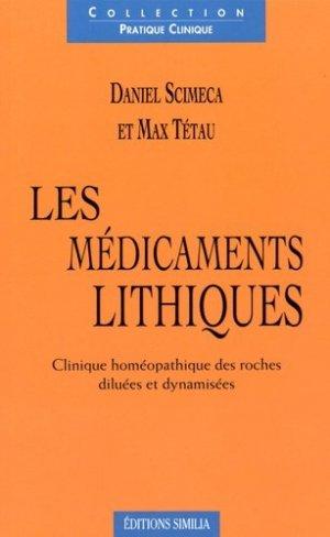 Les médicaments lithiques-similia-9782842510626