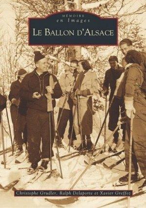 Le Ballon d'Alsace - alan sutton - 9782842538248 -