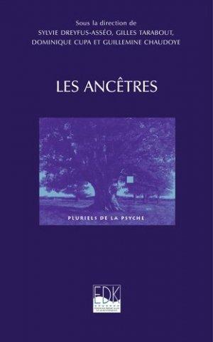 Les Ancêtres - edk - 9782842541651 - majbook ème édition, majbook 1ère édition, livre ecn major, livre ecn, fiche ecn