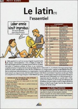 Le latin 1 - Aedis - 9782842592202 -