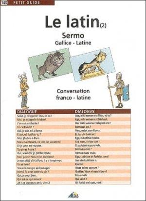 Le latin (2) - Aedis - 9782842592219 -