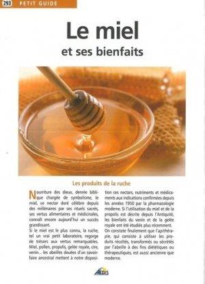 Le miel et ses bienfaits - aedis - 9782842594251