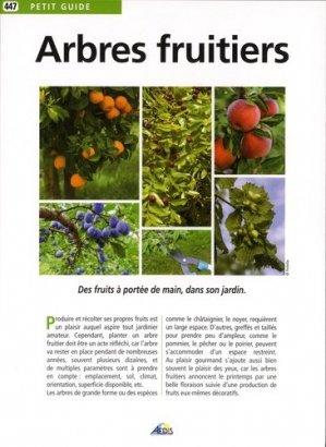 Les arbres fruitiers - Aedis - 9782842599102 -