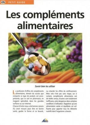 Les compléments alimentaires - aedis - 9782842599720