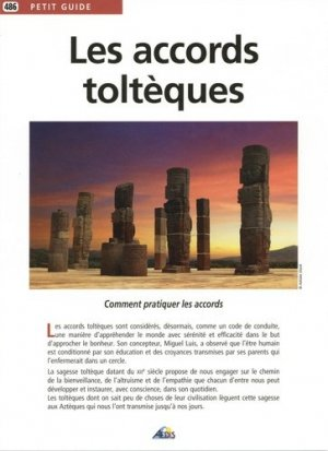 Les accords toltèques - Aedis - 9782842599881 -