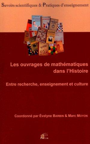Les ouvrages de mathématiques dans l'Histoire - presses universitaires de limoges - 9782842875633 -