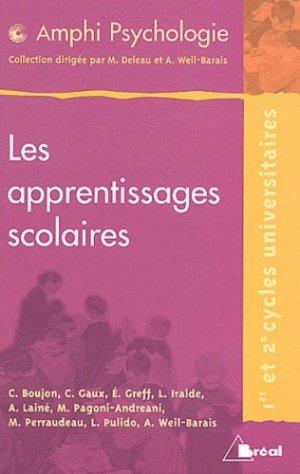Les apprentissages scolaires - Bréal - 9782842919931 -