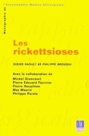 Les rickettsioses - elsevier / masson - 9782842990640 -