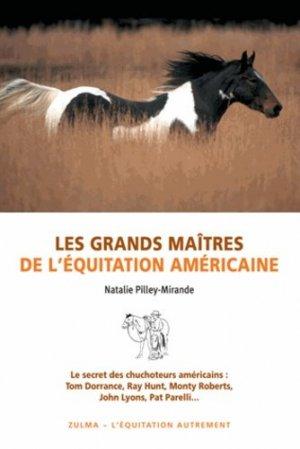 Les grands maîtres de l'équitation américaine - zulma - 9782843045844 -