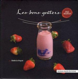 Les bons goûters - Romain Pages - 9782843503658 -