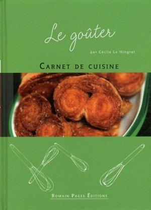 Le goûter - Romain Pages - 9782843504075 -