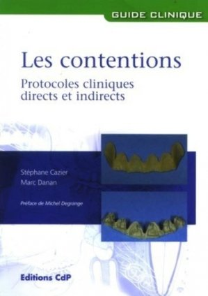 Les contentions - cdp - 9782843611179
