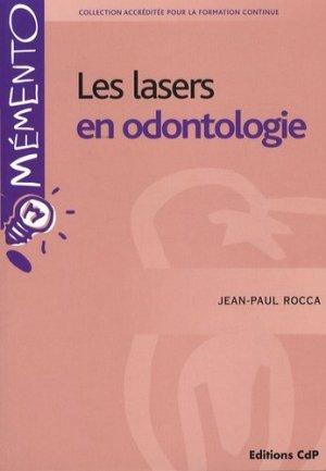 Les lasers en odontologie - cdp - 9782843611230 -
