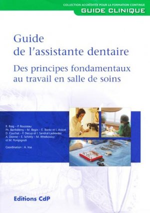Le guide de l'assistante dentaire - cdp - 9782843611315 -