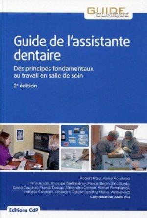 Le guide de l'assistante dentaire - cdp - 9782843612701