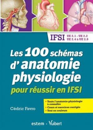 Les 100 schémas d'anatomie physiologie - estem - 9782843718502 -