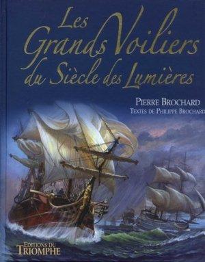 Les grands voiliers du siècle des lumières - Triomphe - 9782843785726 -