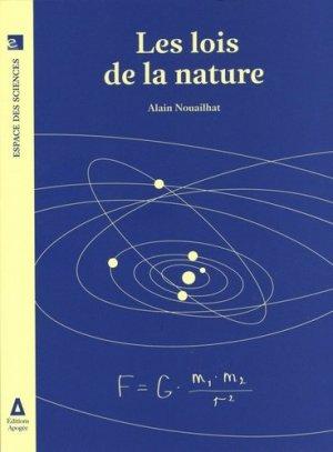 Les lois de la nature - apogée - 9782843986147 -