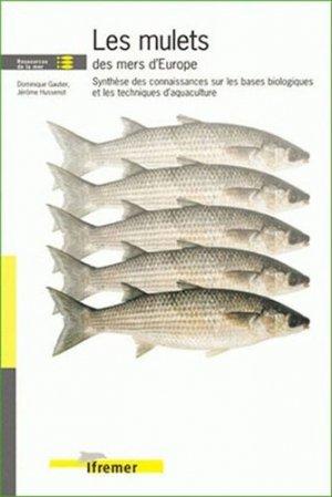 Les mulets des mers d'Europe - ifremer - 9782844331496 -