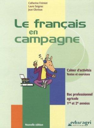 Le français en campagne - educagri - 9782844444721 -