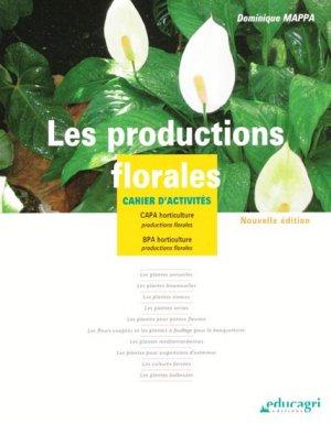 Les productions florales - educagri - 9782844448101