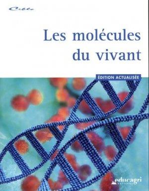 Les molécules du vivant - educagri - 9782844449733 -