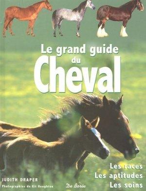 Le grand guide du cheval - de boree - 9782844944207 -