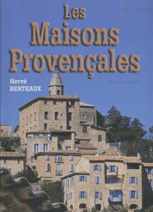 Les maisons provençales - CPE - 9782845037311 -