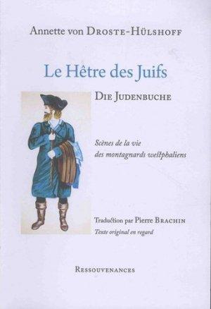 Le hêtre des Juifs - Ressouvenances - 9782845052314 -