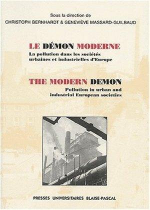 Le démon moderne. - presses universitaires blaise pascal - 9782845161801 -