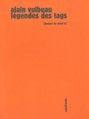 Légendes des tags - Sens and Tonka - 9782845341715 -