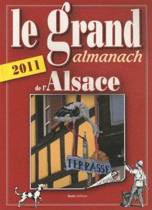 Le grand almanach de l'Alsace - geste - 9782845616929 -