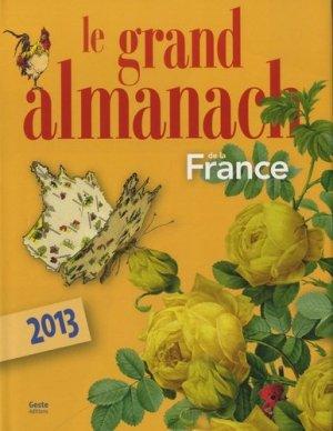 Le grand almanach de la France - geste - 9782845619661 -
