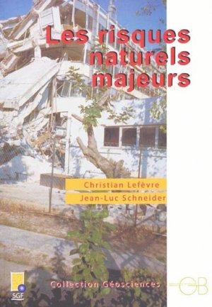 Les risques naturels majeurs - gordon and breach - 9782847030204 -