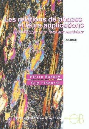 Les relations de phases et leurs applications - Des sciences de la terre aux matériaux - gordon and breach - 9782847030228 -
