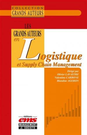 Les grands auteurs en logistique et Supply Chain Management - ems - 9782847698770
