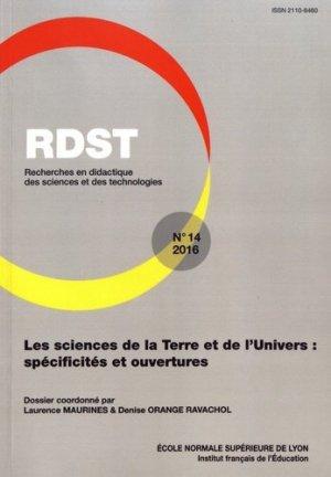 Les sciences de la Terre et de l'Univers : spécificités et ouvertures - Ecole Normale Supérieure - 9782847887549 -