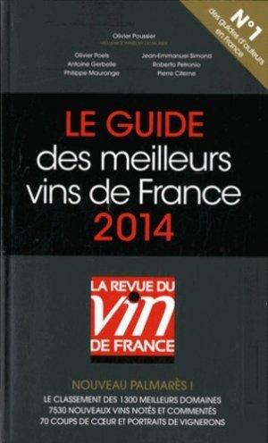 Le guide des meilleurs vins de France 2014 - la revue du vin de france - 9782848316239 -