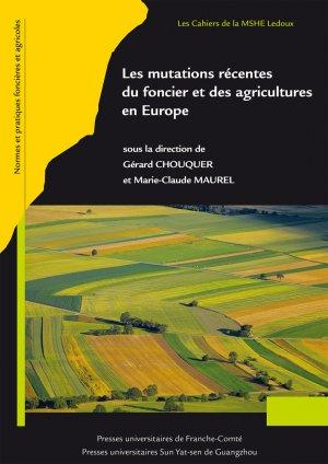 Les mutations récentes du foncier et des agricultures en Europe - presses universitaires de franche-comté - 9782848676418 -