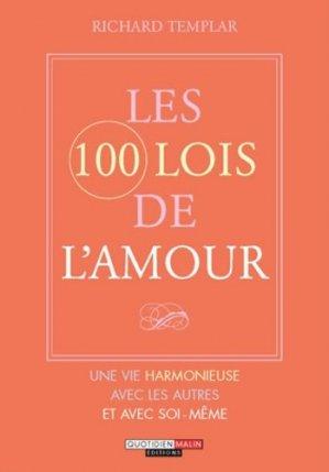 Les 100 lois de l'amour - leduc - 9782848995984 -