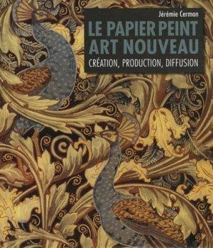 Le papier peint Art nouveau - mare et martin - 9782849340936 -