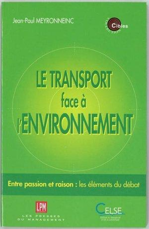Le transport face à l'environnement - celse - 9782850091933 -