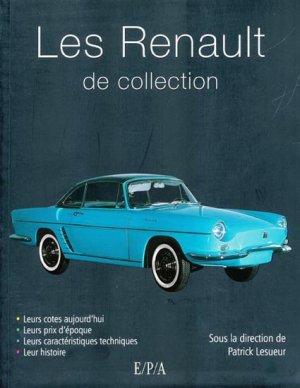 Les Renault de collection - epa - 9782851207142 -