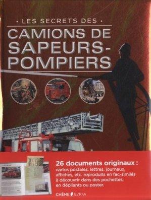 Les secrets des camions de sapeurs-pompiers - epa - 9782851207975 -