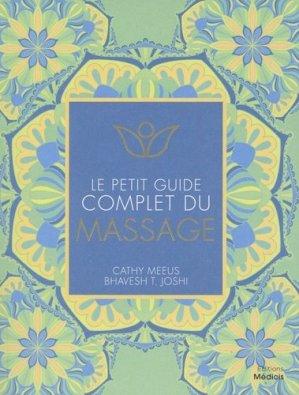 Le petit guide complet du massage - médicis - 9782853276962 -