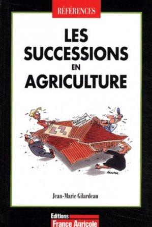 Les successions en agriculture - france agricole - 9782855570808 -